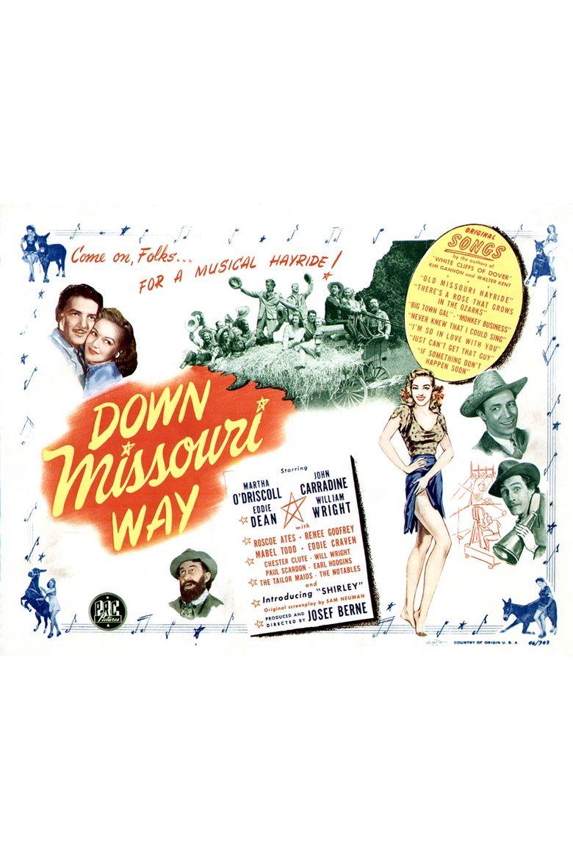Down Missouri Way Poster
