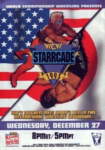WCW Starrcade '95 Poster