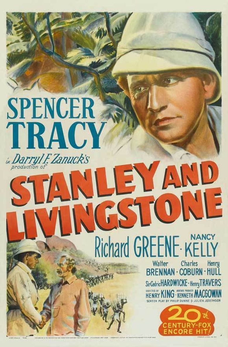 Stanley and Livingstone Poster