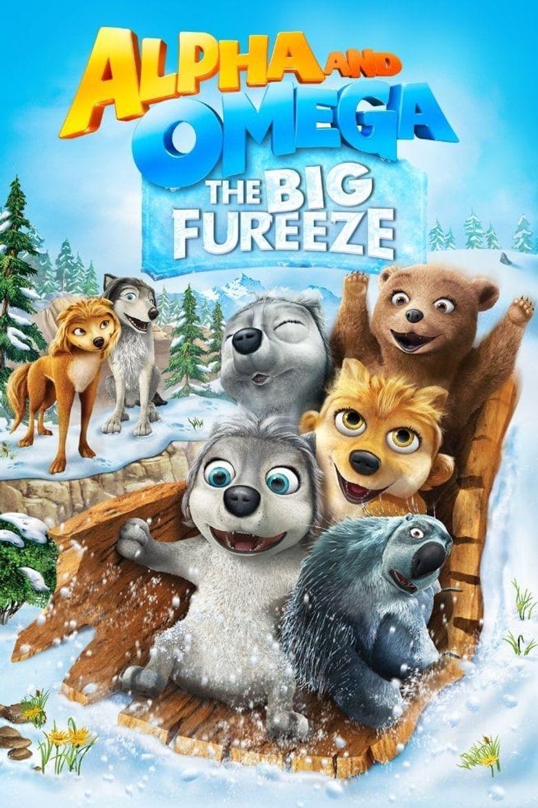 Alpha and Omega: The Big Fureeze Poster