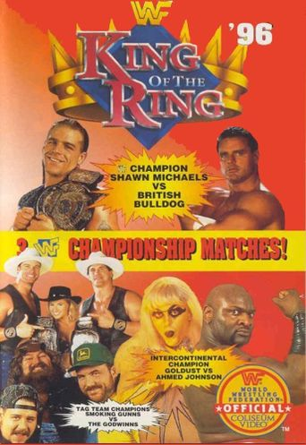 WWE King of the Ring 1996 Poster
