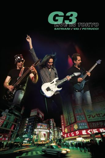 G3: Live in Tokyo Poster