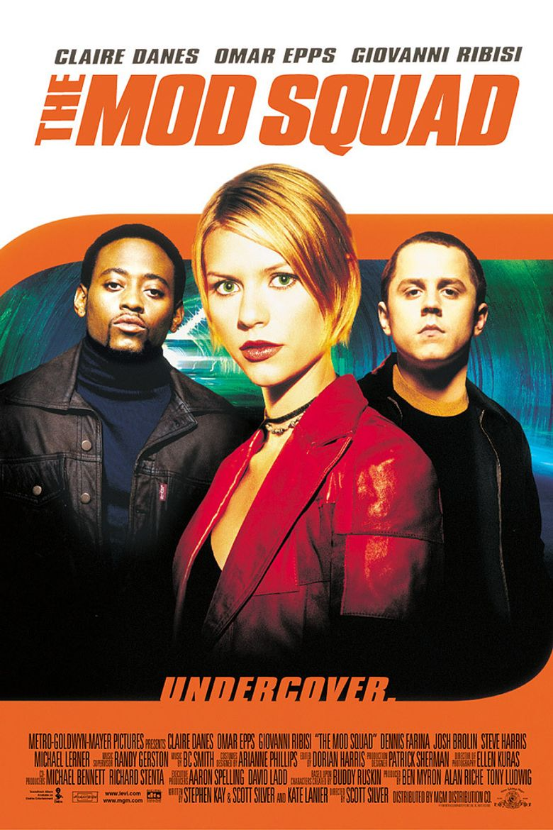The Mod Squad Poster