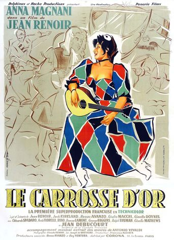 The Golden Coach Poster