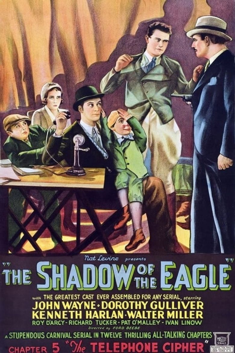 The Shadow of the Eagle Poster