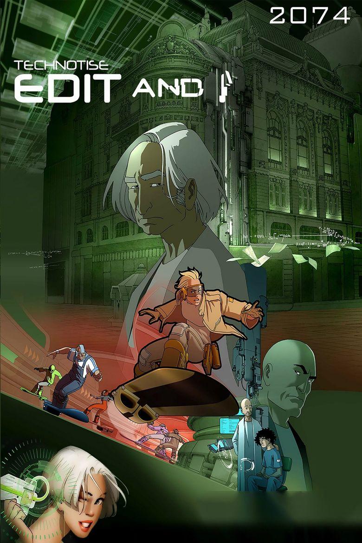 Technotise: Edit and I Poster