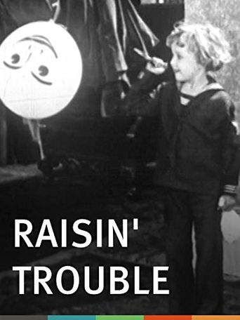 Raisin' Trouble Poster