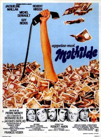 Appelez-moi Mathilde Poster