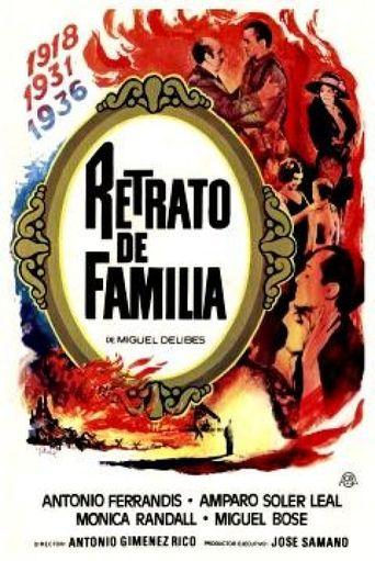 Retrato de familia Poster