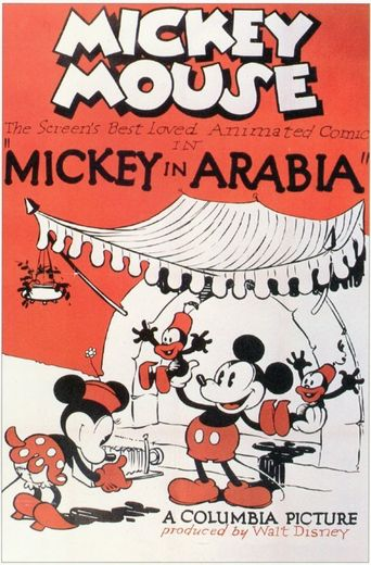 Mickey in Arabia Poster