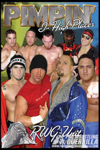 PWG: Pimpin' In High Places Poster