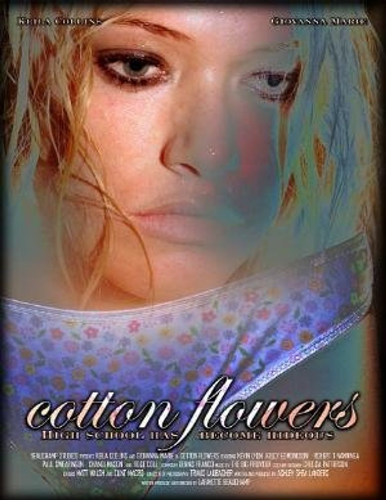 Cotton Flowers Poster