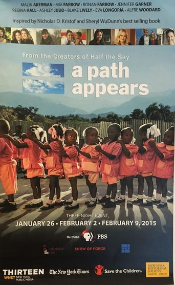A Path Appears Poster