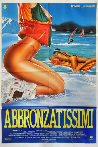 Abbronzatissimi Poster