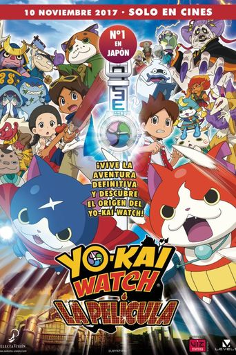 Yo-kai Watch the Movie: It's the Secret of Birth, Meow! Poster
