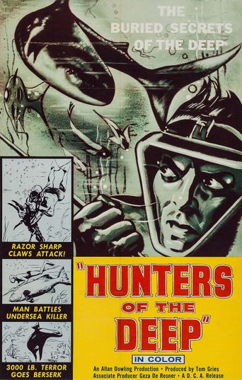 Hunters of the Deep Poster