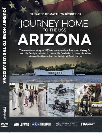 Jouney Home to the USS Arizona narrated by Matthew Broderick Poster