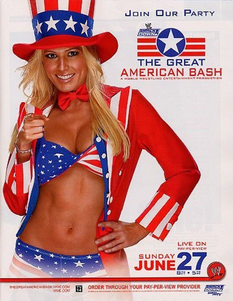 WWE The Great American Bash 2004 Poster