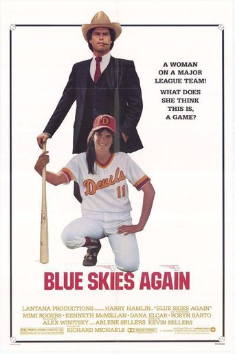 Blue Skies Again Poster