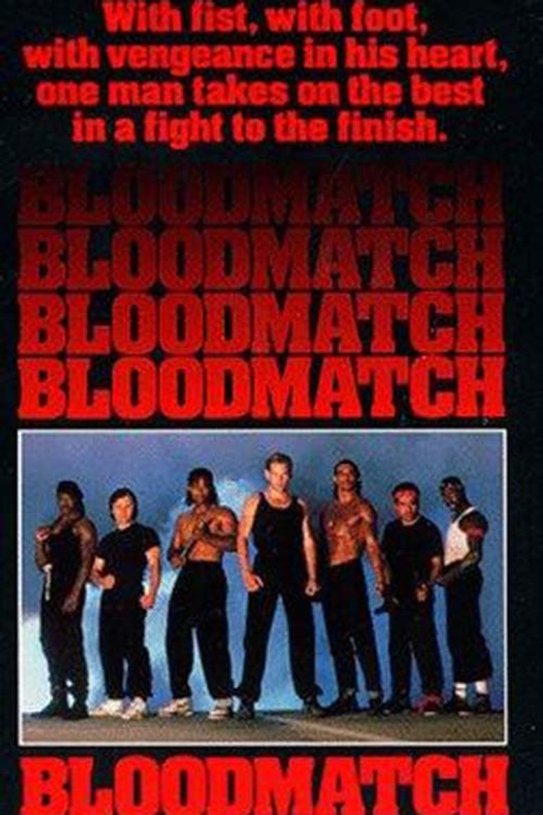 Bloodmatch Poster