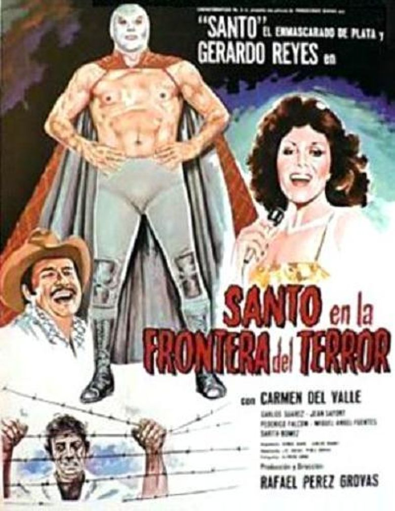 Santo and the Border of Terror Poster