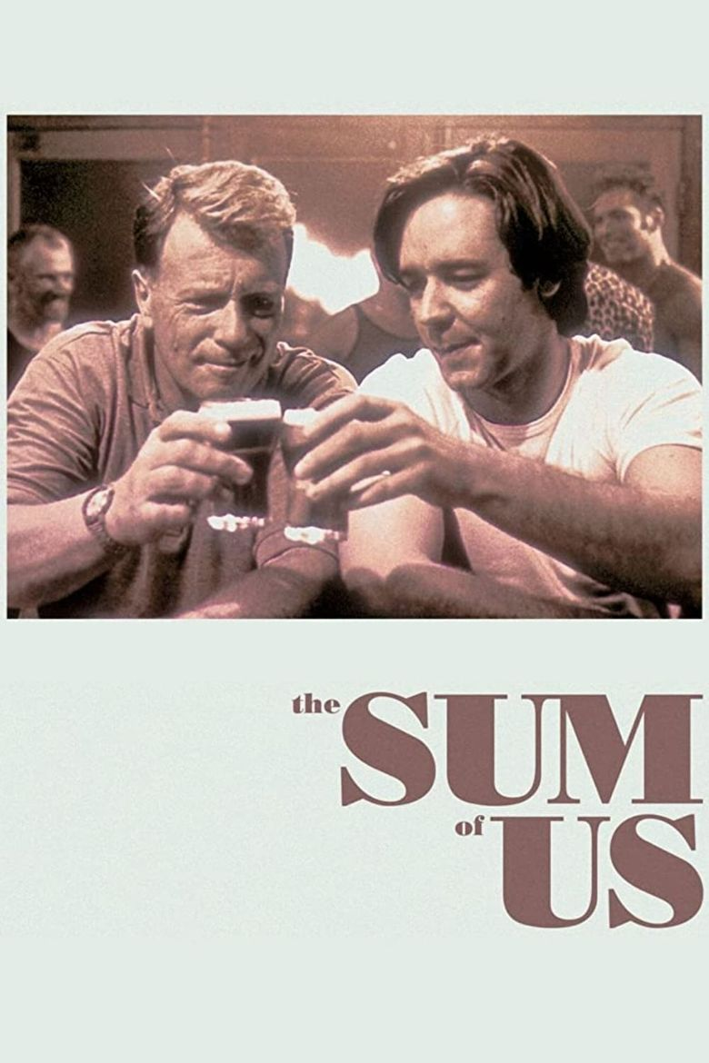 The Sum of Us Poster