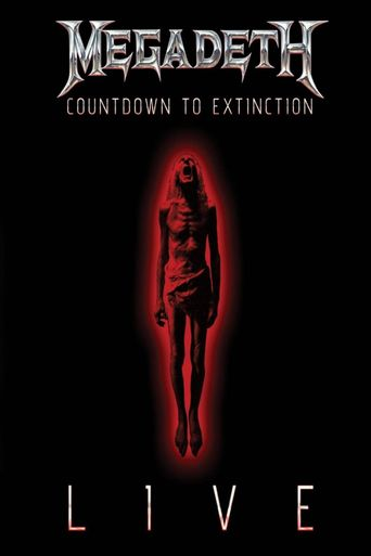 Megadeth: Countdown to Extinction - Live Poster