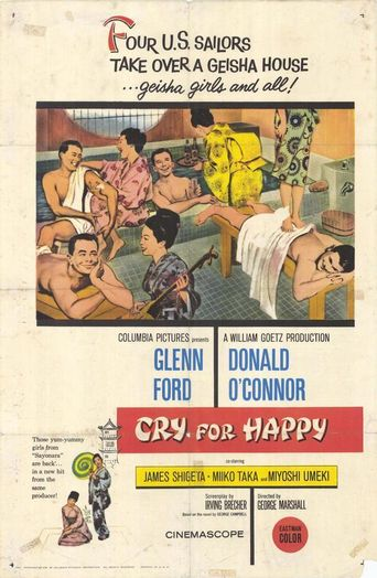 Cry for Happy Poster