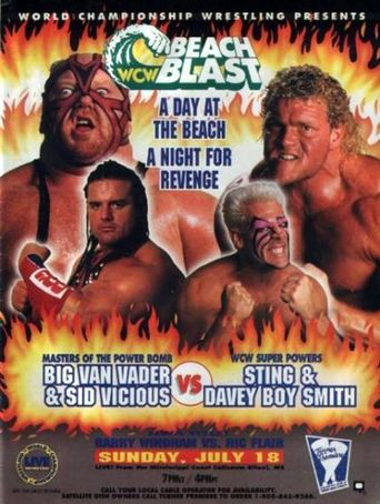 WCW Beach Blast 1993 Poster