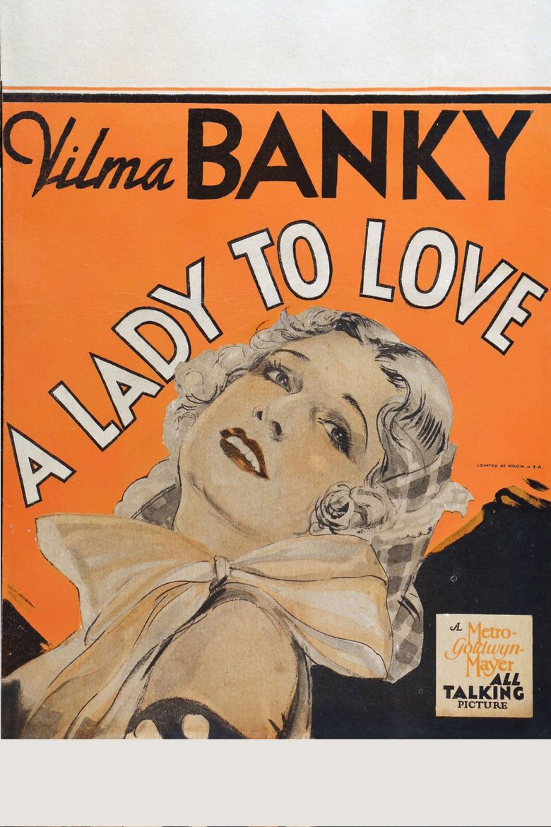 A Lady to Love Poster