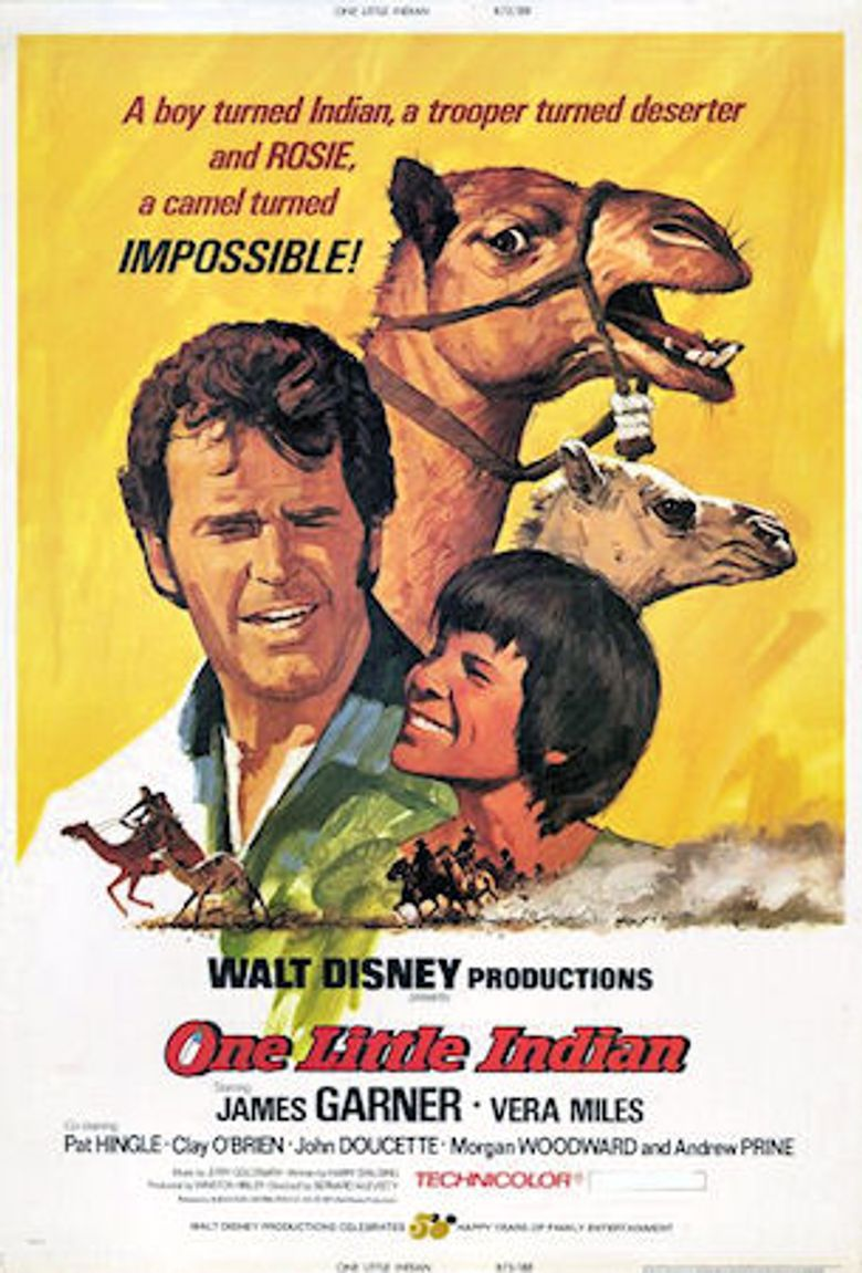 One Little Indian Poster