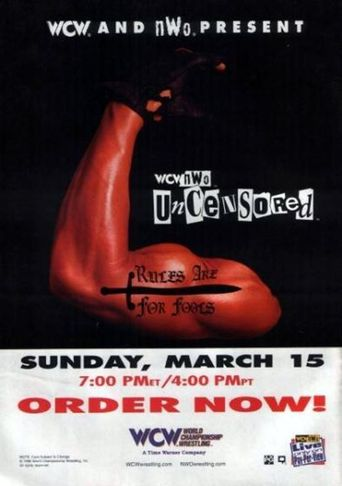 WCW Uncensored 1998 Poster