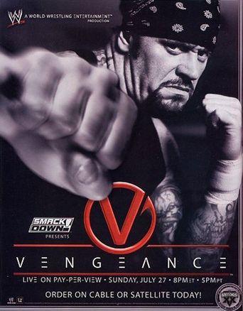 WWE Vengeance 2003 Poster