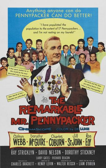 The Remarkable Mr. Pennypacker Poster