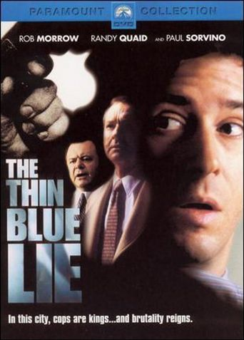 The Thin Blue Lie Poster