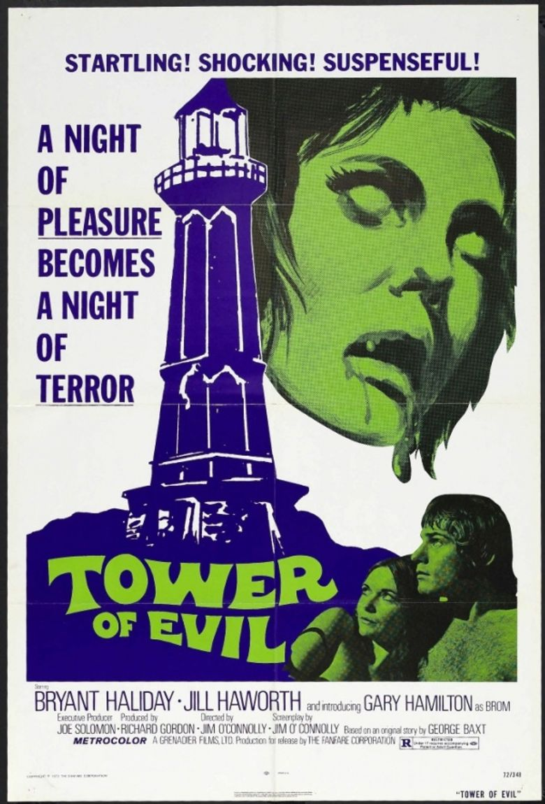 Tower of Evil Poster