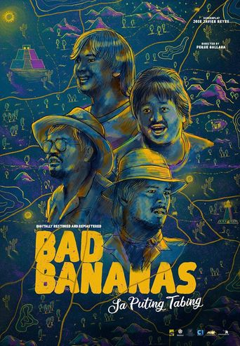 Bad Bananas on the Silver Screen Poster