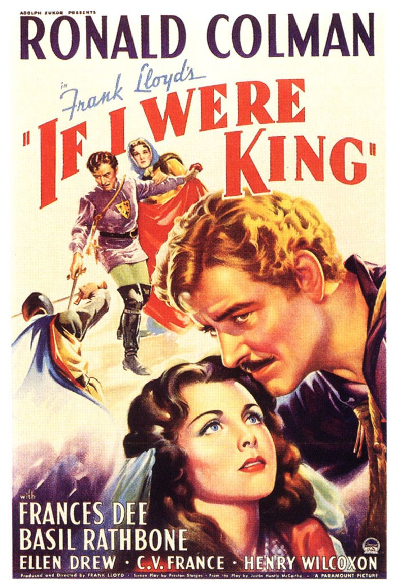 If I Were King Poster