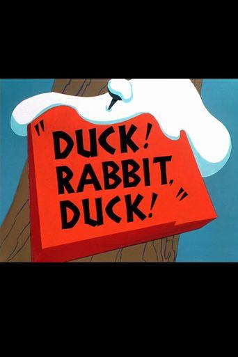 Duck! Rabbit, Duck! Poster