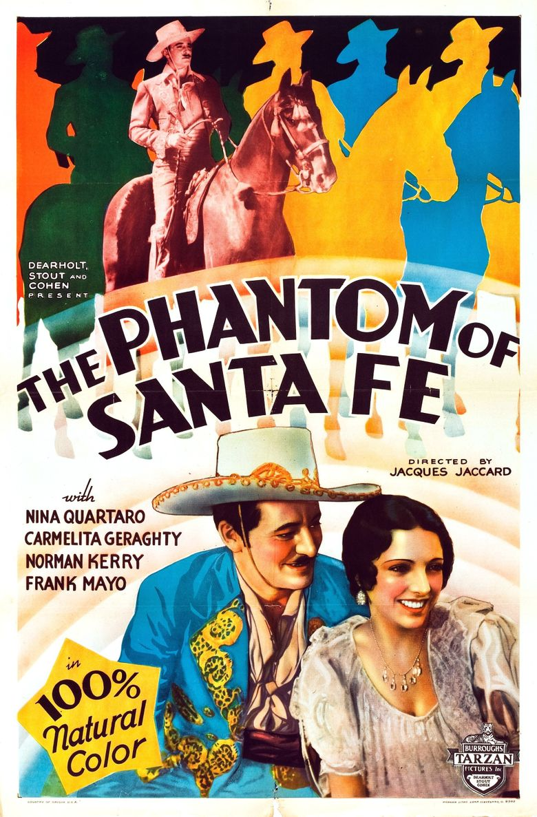 Phantom of Santa Fe Poster