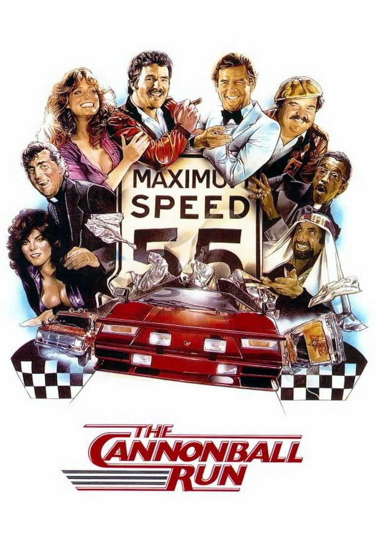 The Cannonball Run Poster