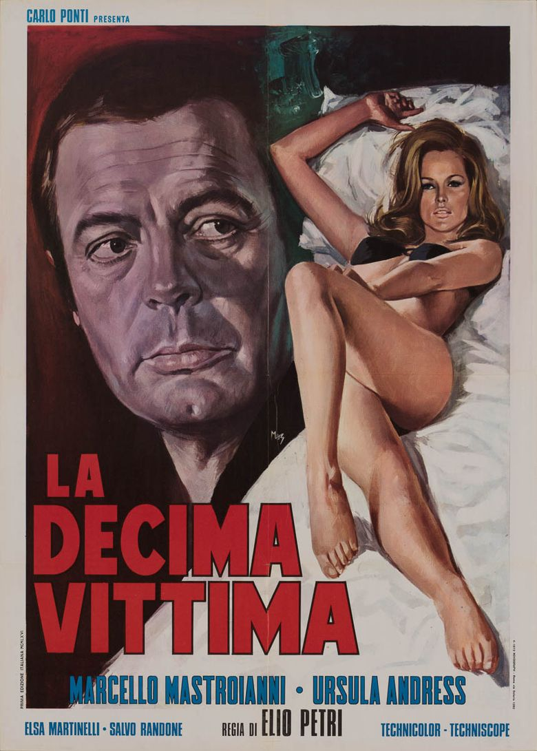 The 10th Victim Poster