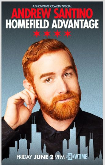 Andrew Santino: Home Field Advantage Poster