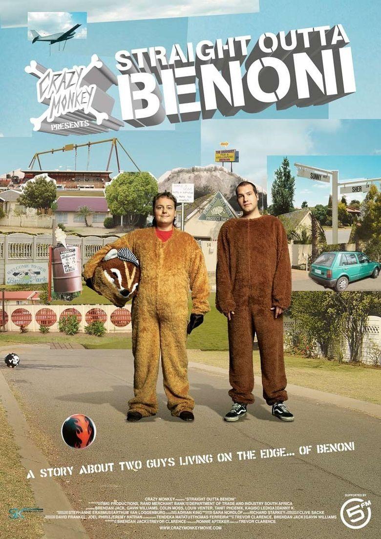 Crazy Monkey Presents Straight Outta Benoni Poster