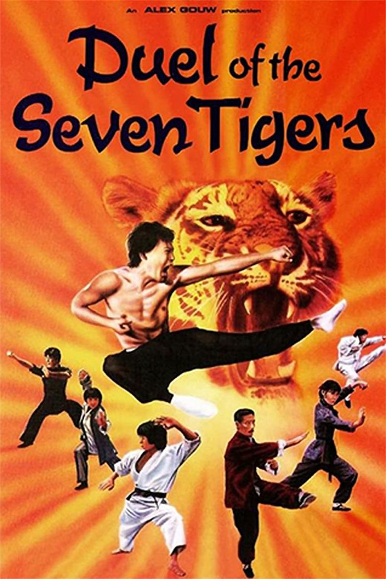 Duel of the 7 Tigers Poster