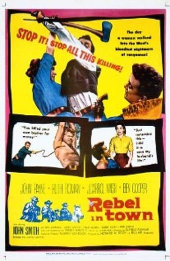 Rebel in Town Poster