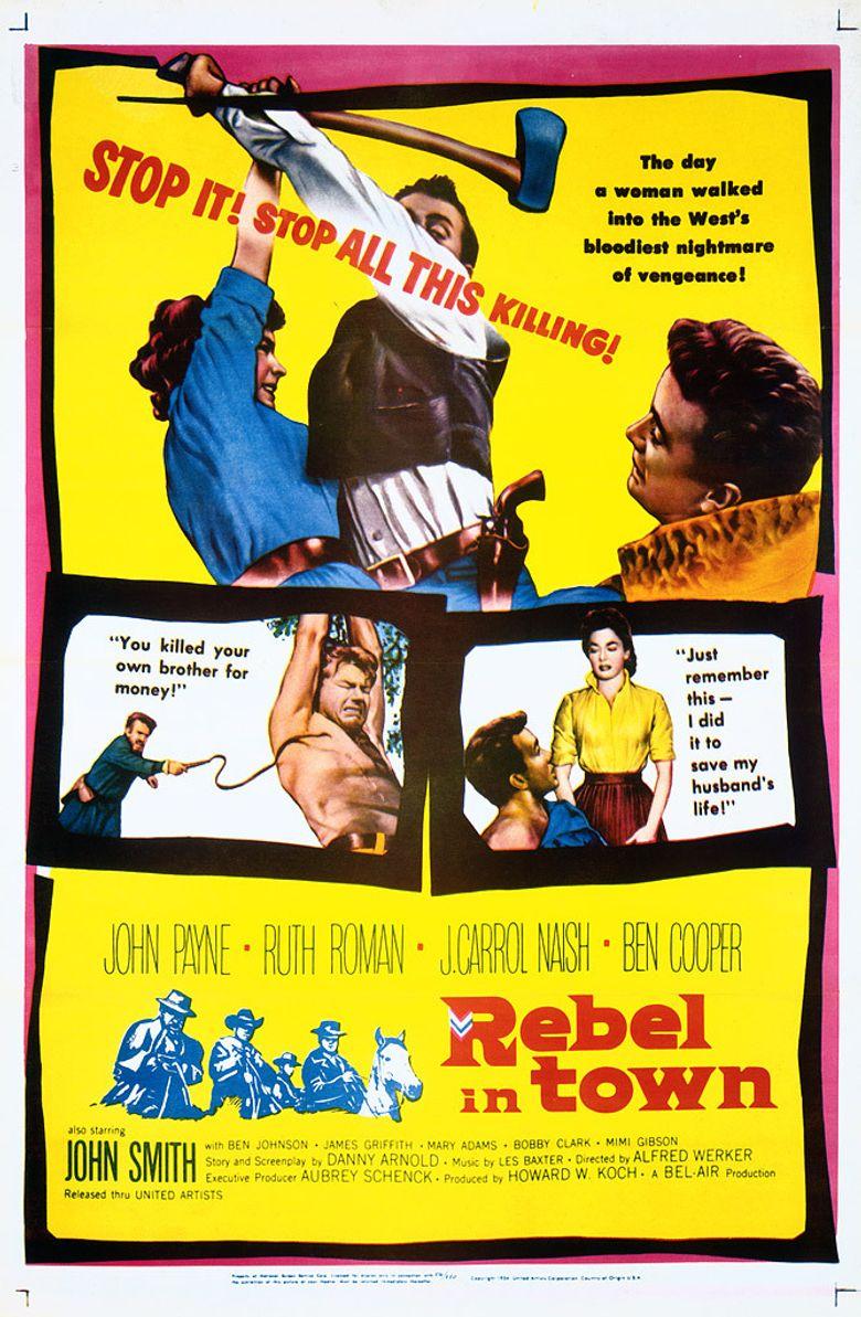 Rebel in Town Poster