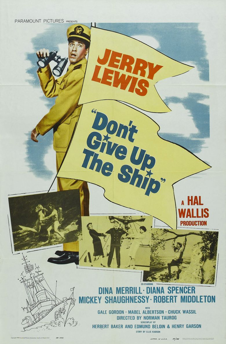 Don't Give Up the Ship Poster