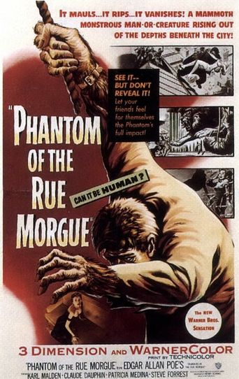 Phantom of the Rue Morgue Poster