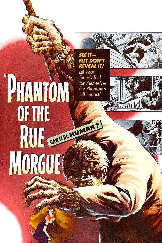Phantom of the Rue Morgue Poster